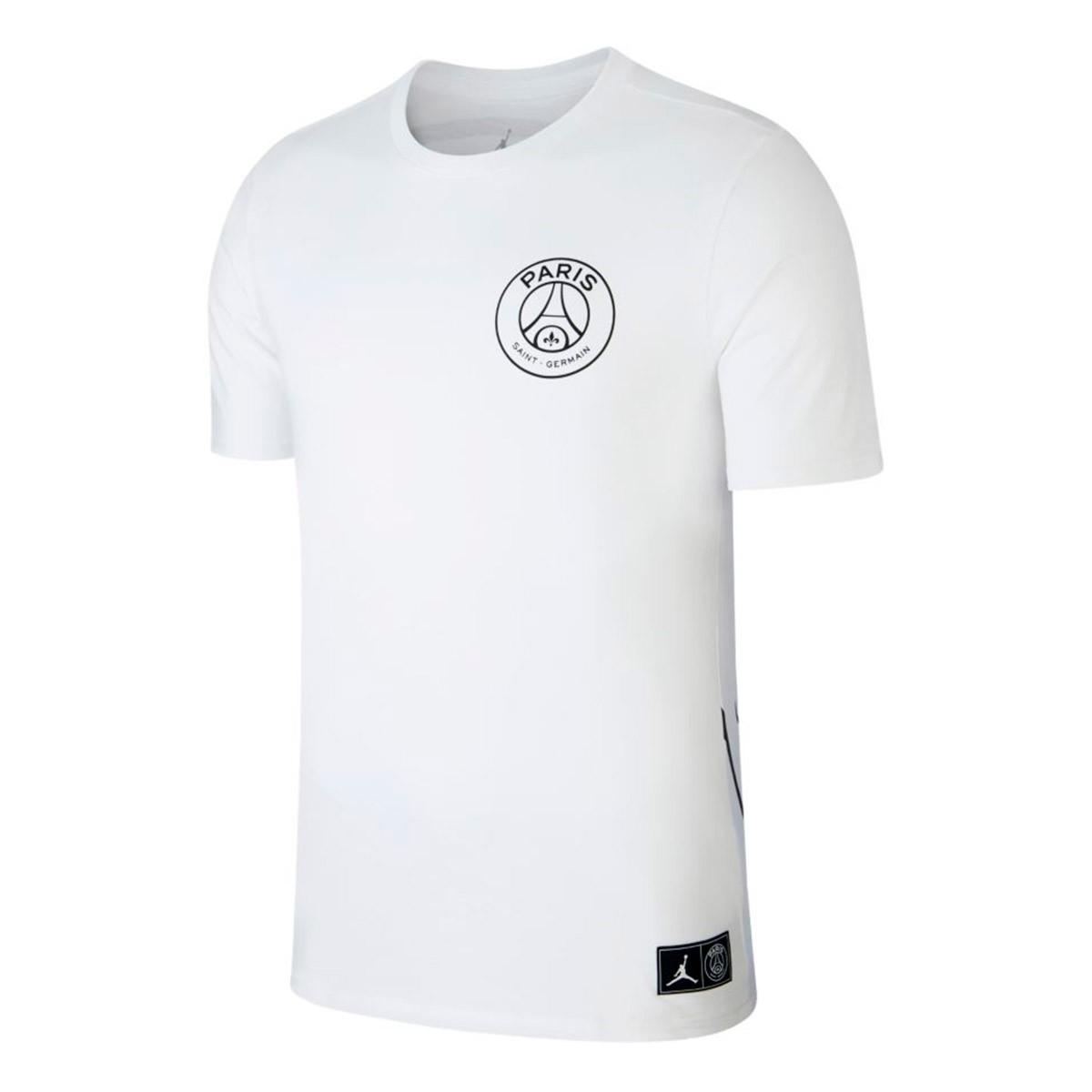 cb31bab696a Jersey Nike Jordan x PSG Logo White-Black - Leaked soccer