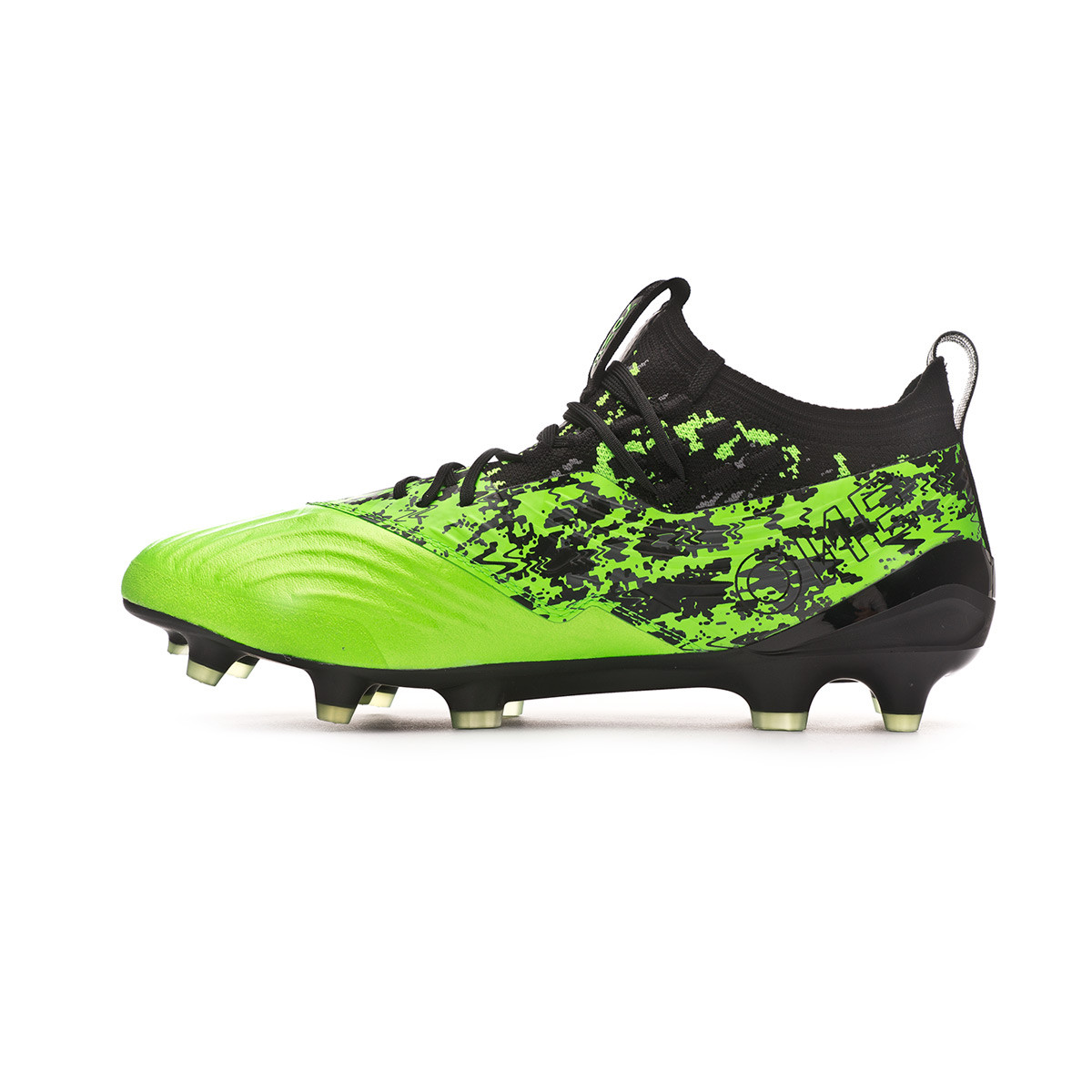 75c1c64c1 Football Boots Puma One 19.1 FG/AG Green Gecko-Puma Black-Charcoal Gray -  Football store Fútbol Emotion