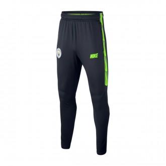 Long pants   Nike Dry Manchester City FC Squad 2018-2019 Niño Dark obsidian-Volt