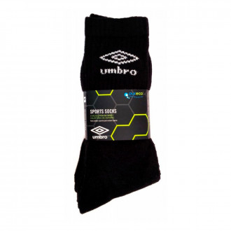 Socks Umbro Sports (Pack 3 uds.) Black