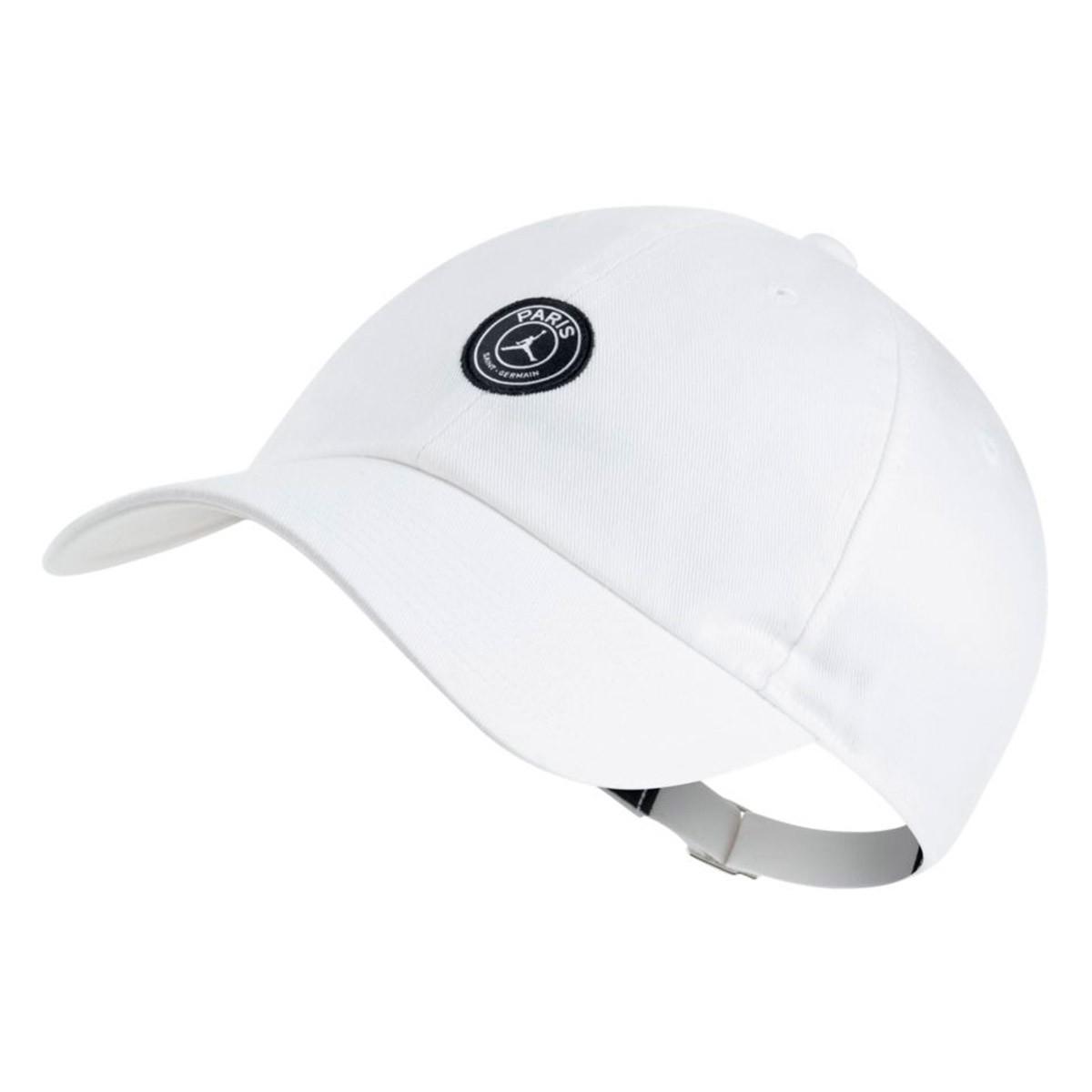 327a5ad4dd094 Cap Nike Jordan x PSG Heritage 86 White - Tienda de fútbol Fútbol ...