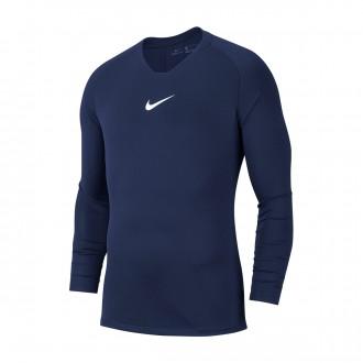 Camiseta  Nike Park First Layer m/l Niño Midnight navy