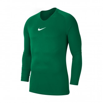 Camiseta  Nike Park First Layer m/l Niño Pine green