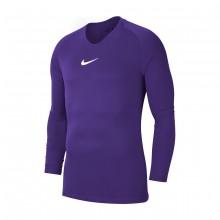 Camiseta Park First Layer m/l Niño Court purple