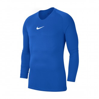 Camiseta  Nike Park First Layer m/l Niño Royal blue