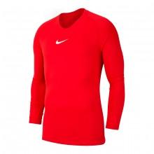 Camiseta Park First Layer m/l Niño University red