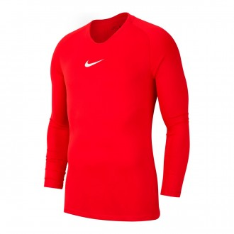Camiseta Nike Park First Layer m/l Niño University red
