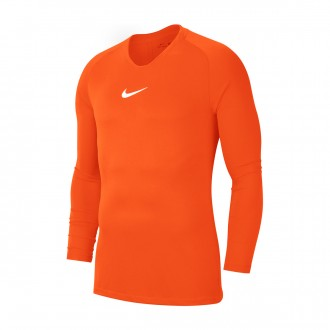 Camiseta Nike Park First Layer m/l Safety orange