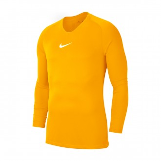 Camiseta Nike Park First Layer m/l University gold