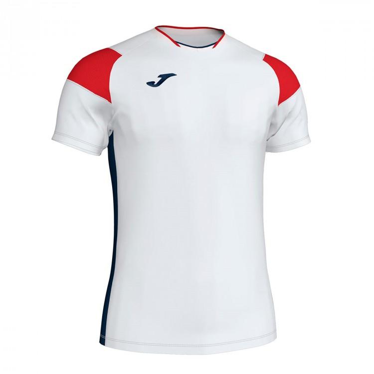 d51f0fa33b9d3 Jersey Joma Crew III m c White-Red-Navy blue - Football store Fútbol ...
