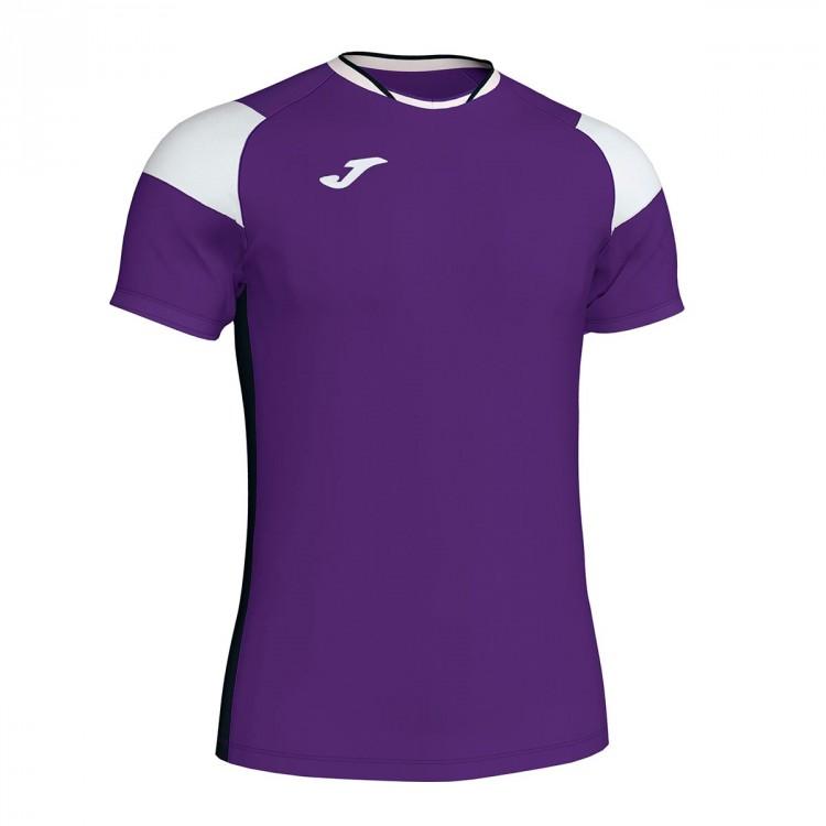 5bf55e23c0bad Jersey Joma Crew III m c Purple-White-Black - Football store Fútbol ...