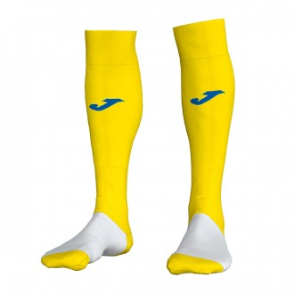 Football Socks Joma Profesional II Yellow-White