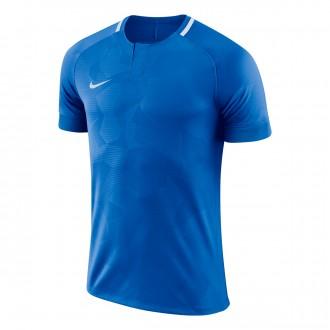 Camiseta  Nike Challenge II m/c Niño Royal blue-White