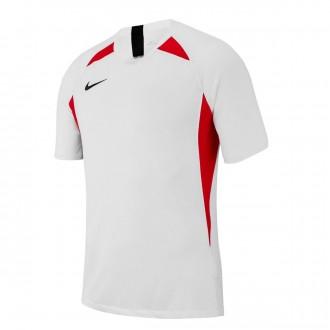 Camiseta  Nike Legend m/c Niño White-University red