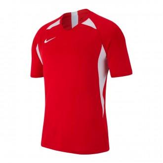 Camiseta  Nike Legend m/c Niño University red-White