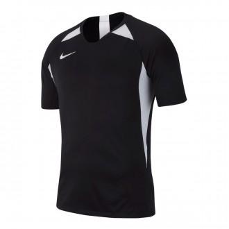 Camiseta  Nike Legend m/c Niño Black-White