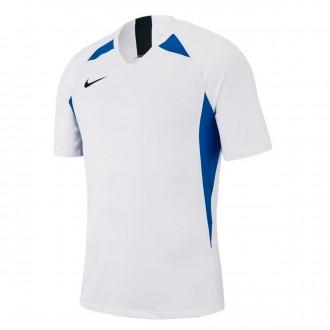 Camiseta  Nike Legend m/c Niño White-Royal blue