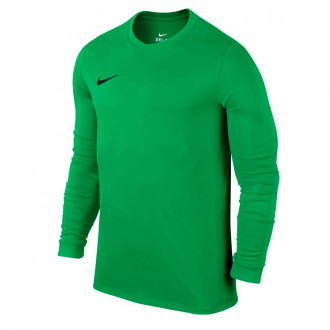 Maillot  Nike Dry Football Top Hyper green-Black