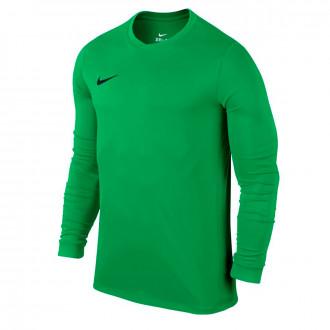 Camiseta  Nike Dry Football Top Hyper green-Black