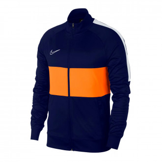 Casaco  Nike Dri-FIT Academy Blue void-White
