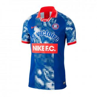 Camisola  Nike Nike F.C. Indigo force-White