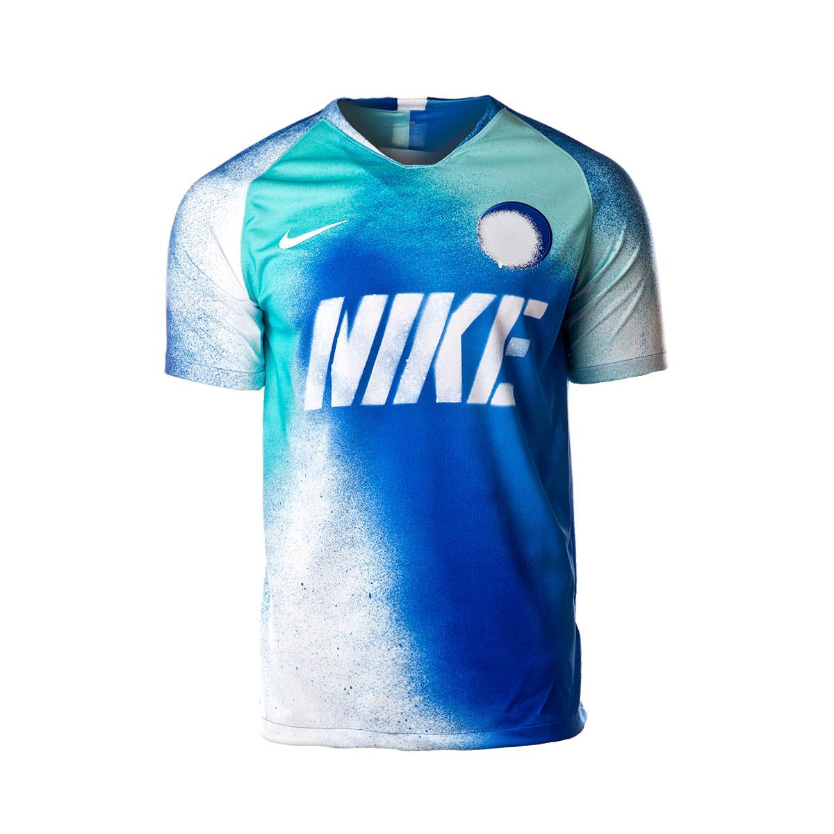 3fd7bbae Jersey Nike Dry Strike SS Game royal-White - Football store Fútbol ...