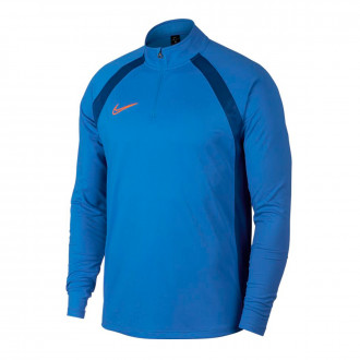 Camiseta  Nike Dry Academy Dril Top Pacific blue-Indigo force