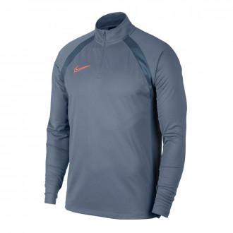 Camiseta  Nike Dry Academy Dril Top Armory blue-Monsoon blue