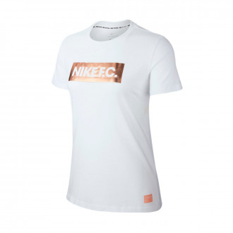 Maillot  Nike Nike F.C. Block femme White