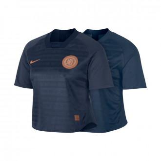 Camiseta Nike Dry Nike F.C. Mujer Monsoon blue-Armory blue-White