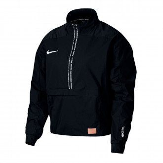 Chaqueta  Nike Dry Nike F.C. Midlayer QZ Mujer Black