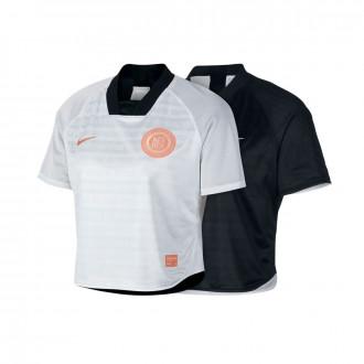Maillot  Nike Dry Nike F.C. Femme Black-White