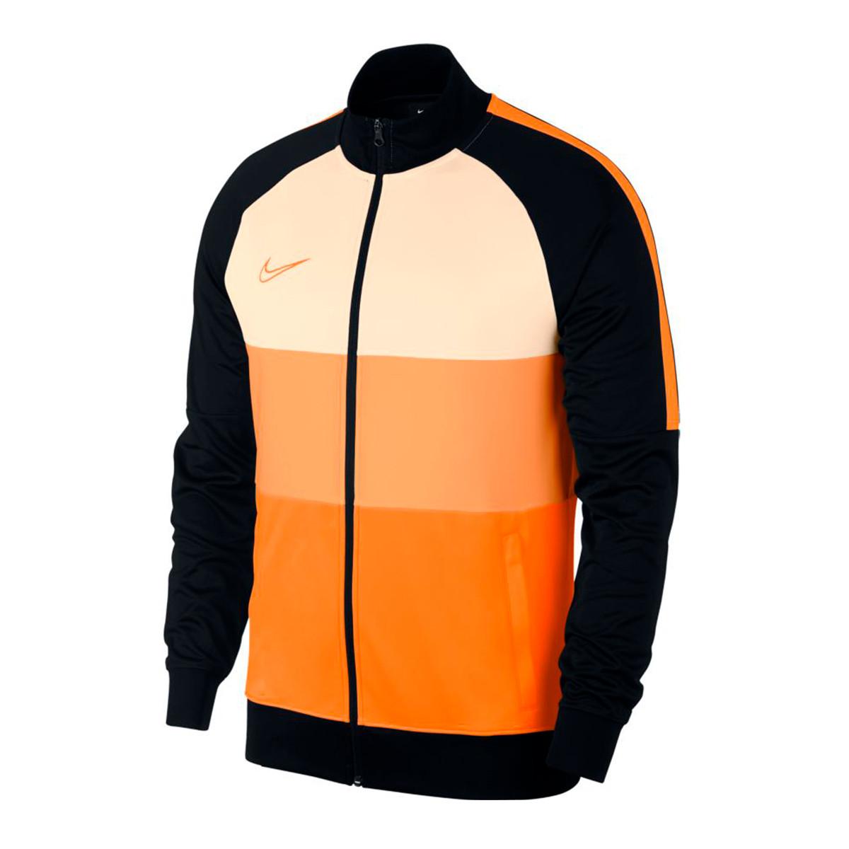 86ee84093 Jacket Nike Dri-FIT Academy Black-Guava ice-Total orange - Football ...