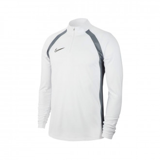 Sweat Nike Dry Academy Dril Top SMR White-Cool grey