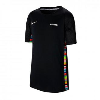 Camiseta  Nike Dry Top LVL UP Niño Black-White