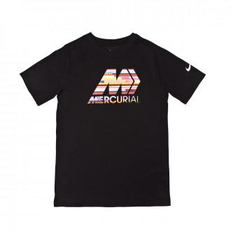 Camiseta Nike Dry Niño Black