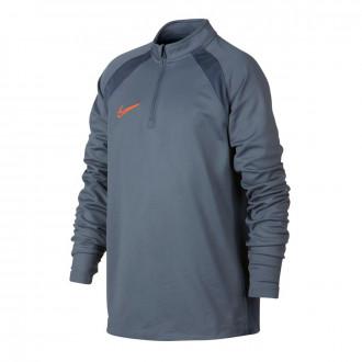 Camiseta  Nike Dry Academy Dril Top Niño Armory blue-Monsoon blue