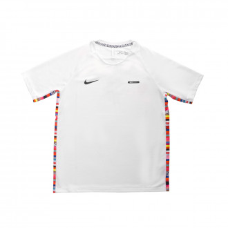 Maglia  Nike Dry Top LVL UP Niño White-Black