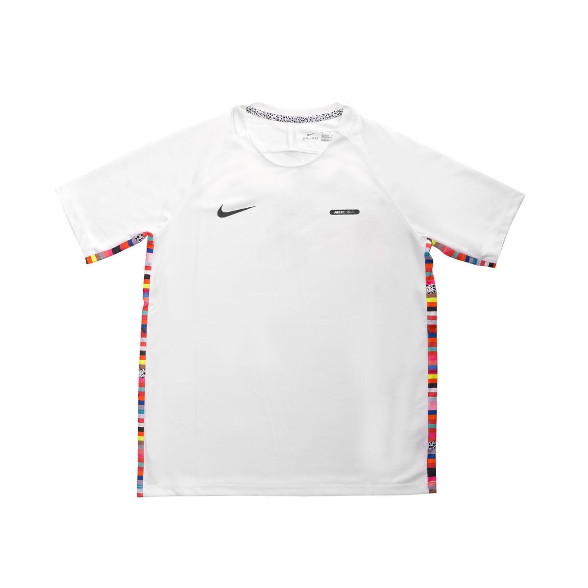 0ebebdae8 Jersey Nike Dry Top LVL UP Niño White-Black - Football store Fútbol ...