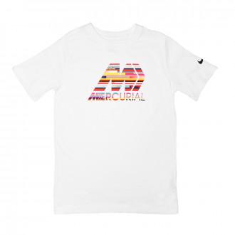 Camiseta Nike Dry CR7 Niño White