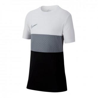 Camiseta  Nike Dri-FIT Academy Niño White-Black-Cool grey