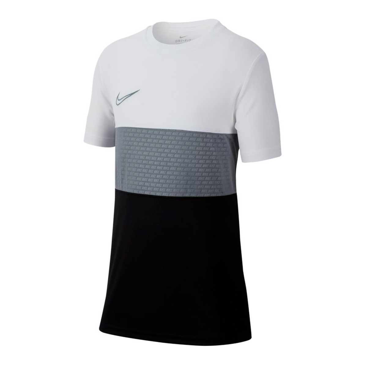 00a476310 Jersey Nike Kids Dri-FIT Academy White-Black-Cool grey - Leaked soccer