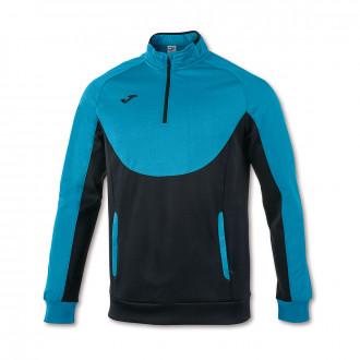 Sweatshirt  Joma Essential 1/2 Turquoise-Black