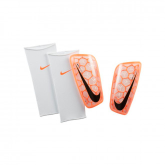 Shinpads  Nike Mercurial Flylite SuperLock Hyper crimson-White-Black