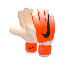 Glove Spyne Pro White-Hyper crimson-Black