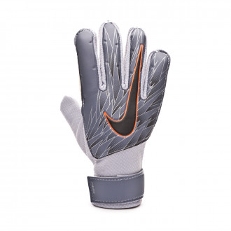 Glove  Nike Match Niño Armory blue-Metallic silver-Black