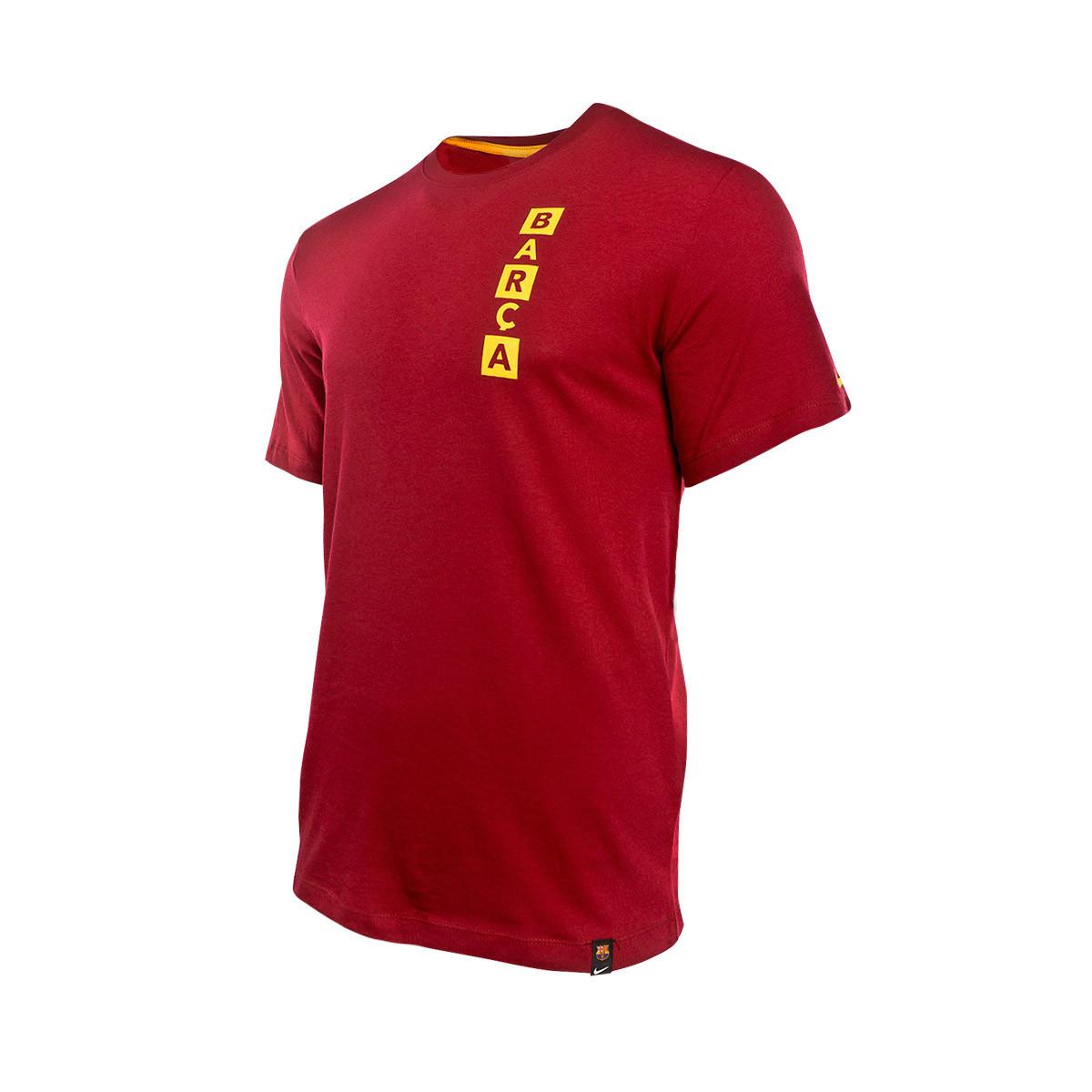 size 40 87408 d11f0 Camiseta FC Barcelona Kit Story Tell 2018-2019 Noble red