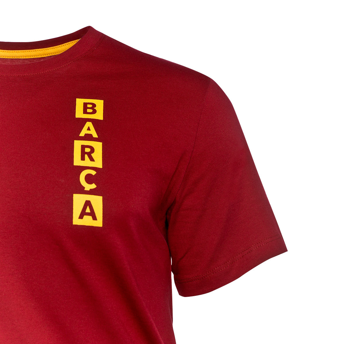 size 40 63f23 8b0e0 Camiseta FC Barcelona Kit Story Tell 2018-2019 Noble red