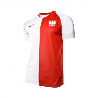 Jersey Nike Selección Polonia Breathe Stadium SS DSR 2019-2020 White-Sport red