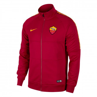 Jacket  Nike AS Roma 2018-2019 Team red-University gold